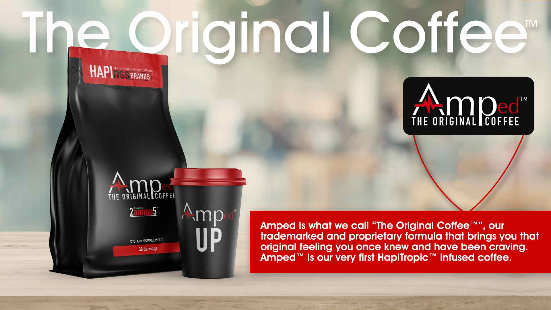 Amped Coffee - Hapiness Brands