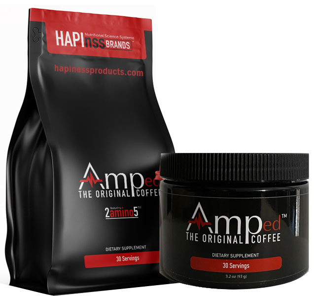AMPED Coffee - Hapinss Brands